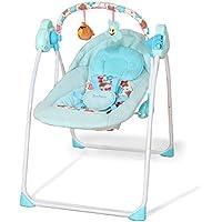 RUNQIAN Smart Electric Music Chaise A Bascule Bebe Pliable Swing Bodyguard