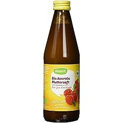 Alnavit Bio Acerola Muttersaft, vegan, 6er Pack (6 x 330 ml)