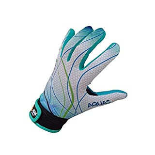Atak Sports Men's Aquas Gaelic Gloves, Multi-Colour, 7-8 Years