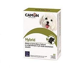Orme Naturali Hybrid Care per Cani e Gatti, 60 Compresse Pulizia Occhi – 100 g
