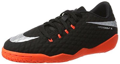 Unissex antracite Ii Chuteiras Ic black Nike Hypervenomx preto Phinish Crianças Metálica Prata Negra wC5FqF7I