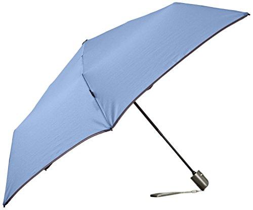 Flacher Duomatic-Regenschirm Knirps 881, Piping Opa (blau) - 881-668-4