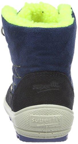 Superfit Groovy, Bottes mi-hauteur avec doublure chaude garçon Bleu - Bleu océan (81)