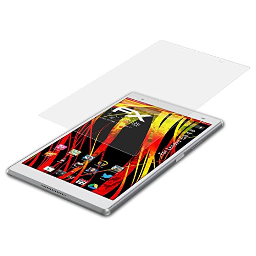 atFolix Schutzfolie kompatibel mit Lenovo Tab 4 8 Bildschirmschutzfolie, HD-Entspiegelung FX Folie (2X)