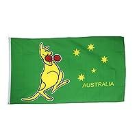 Digni Australia kangaroo Flag, 2 x 3 ft + free sticker