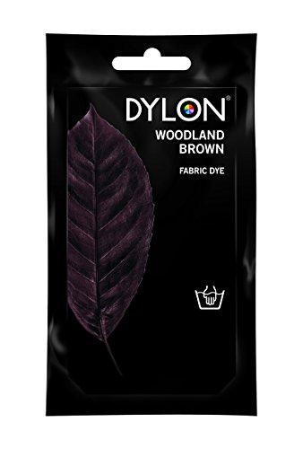 Dylon Stofffarbe, Bahama Blue, Pulver, Woodland Brown, 10x14x7.8 cm