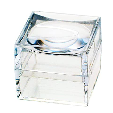 The Magni-Box, Pack of Nine Size 25 mm Acrylic Magnifying
