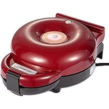 Máquina para donuts, Fabricante del buñuelo Retro Casa Completamente automático Siete hoyos Placas de cocción