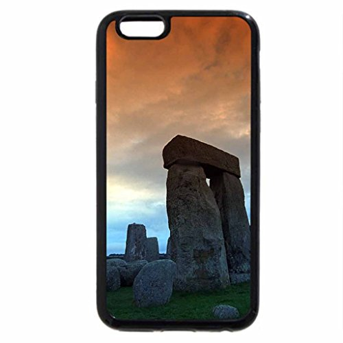iPhone 6S / iPhone 6 Case (Black) STONEHENGE BATHED IN COLOUR