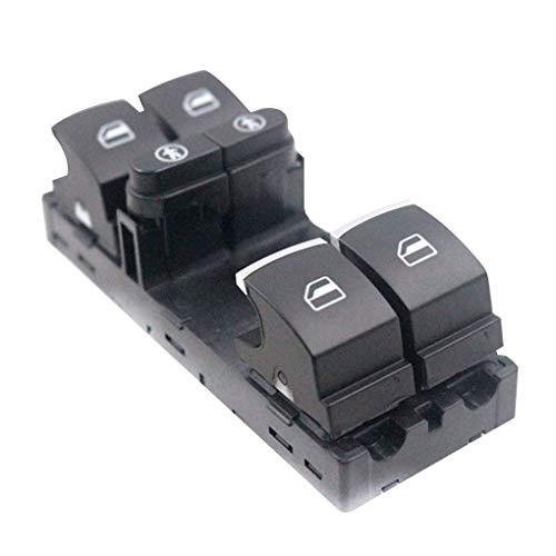 Minzhi 7P6959857 Neue haltbare Lange Lebensdauer Elektrisches Schwarz Original Schalter für Fensterheber Passend für Sharan 2011-2014