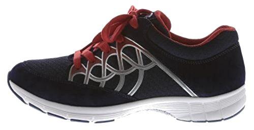 Donne Sneaker Gabor Sport 64.350.43 grigio / ghiaccio / argento nightblue/blue/rot