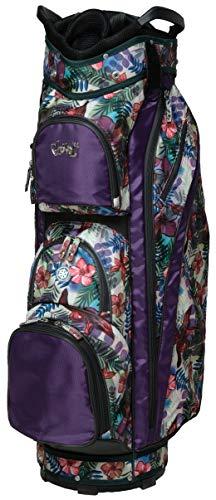 Damen Golftasche - Glove It - Damen Golftasche, Unisex-Erwachsene, Tropical Golf Bag, Tropical, Einheitsgröße -