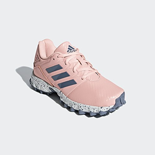 adidas Lux Junior Hockey Shoes, Pink, UK4.5