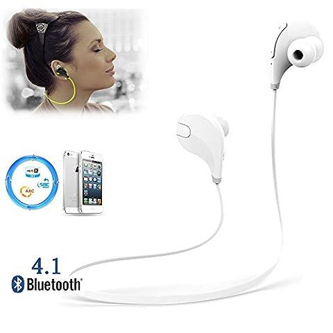 CDC® Casque de Sport Bluetooth 4.0 Ecouteurs sans fil Stéréo