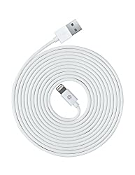 OPSO Lightning Kabel - [Apple MFi Zertifiziert] iPhone 3M Lightning USB Kabel Ladekabel Datenkabel für iPhone 7 Plus 6S Plus 6 Plus SE 5S 5C 5, iPad 2 3 4 Mini, iPad Pro Air 2, iPod - Weiß