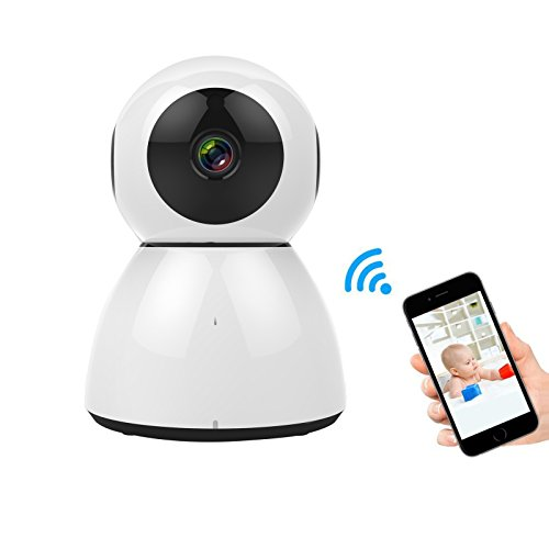 Überwachungskamera, M.Way IP Kamera mit WiFi, HD Wireless WLAN Kamera, Kamera-Sicherheitssystem, 1080P P2P IR Nachtsicht drahtlose Überwachungs-Kamera IP Camera für Security Home Baby Monitor (Nicht für Windows Phone) (Wireless-indoor-überwachungskameras)