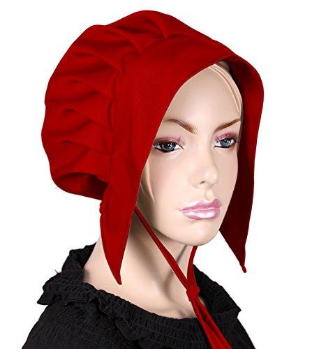Kostüm Bilder Tudor - kreativwunderwelt Kleine Tudorhaube - rot - FG
