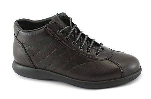 Frau 27P4 Chocolat Chaussures Homme Milieu Chaussures de Randonnée Confort en Cuir