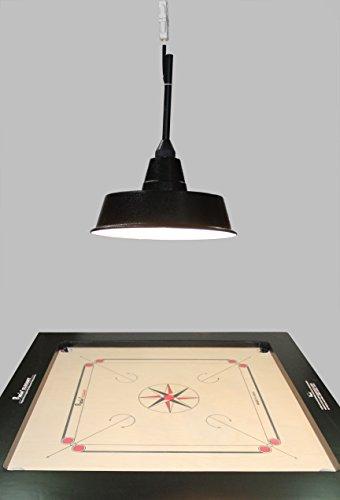 Speedymoto Speedy Professional Carrom Board Lamp Shade With Accessories