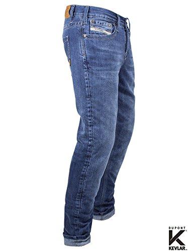 John Doe KAMIKAZE Jeans Regular Cut mit DuPont Kevlar® Faser - Blau Lightblue