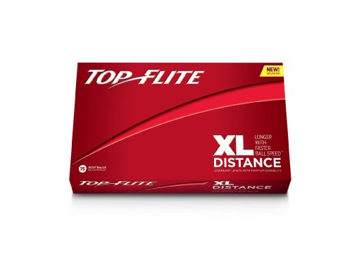 Top Flite XL Distance Balles de golf Blanc