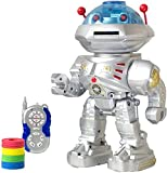 #6: Electrobot Space Wiser Super Robot, Light and Sound Walking and Head Spinning Robot
