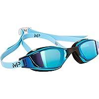 Michael Phelps - MP Gafas XCEED Espejo, Color - Bleu/Noir, tamaño Talla única