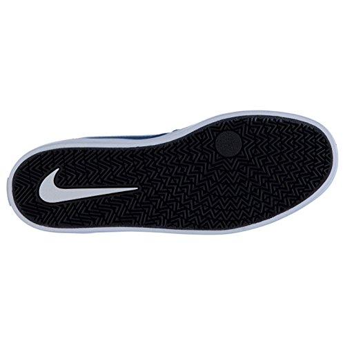 Skateboarding Solarsoft 843895 Weiss Mens Nike 410 SB Blau Check Shoe wxxqaYgXf