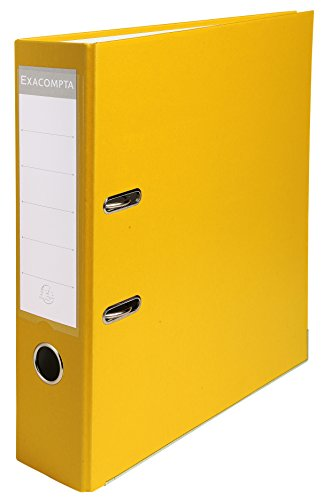 exacompta-918404b-lever-arch-file-80-mm-yellow