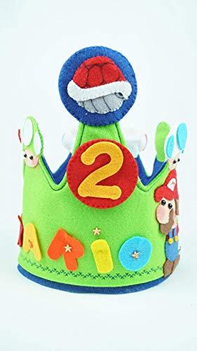 Corona Cumpleaños Mario Bross