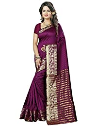 Nirja Creation Multicolor Banarasi Silk saree