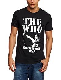 Plastic Head Who The British Tour 1973 Men's T-Shirt