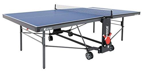 Sponeta Tischtennisplatte S 4-73 i blau Indoor Untergestell schwarzgrau
