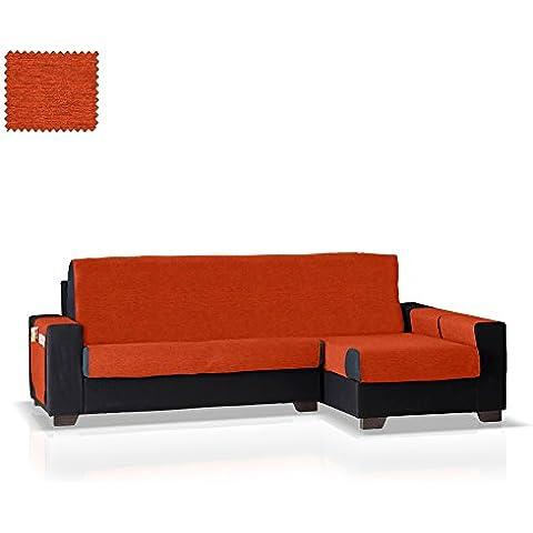 Cubre sofá Chaise Longue Biggie, Brazo Derecho, tamaño grande (292 Cm.), Color 19 (varios colores