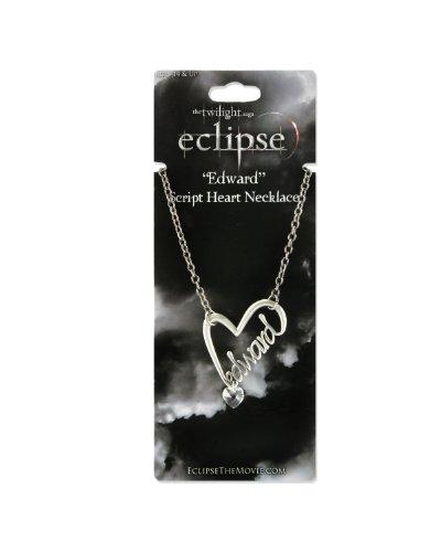 NECA Twilight Eclipse Halskette Edward Script Heart (Twilight Edward Halskette)