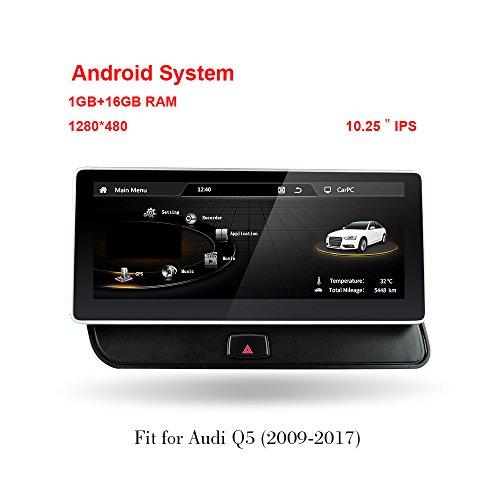 "Freeauto für AUDI Q5 2009-2017 10,25 \""Bildschirm Android 4.4 System Auto Audi GPS Navigation Radio Player Media Stereo"