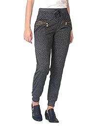 KRISP® Femmes Jogging Pantalon de Sports Taille Haute