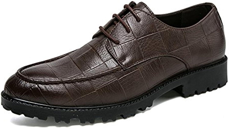 Scarpe Stringate Basse da Uomo con Lacci e Stringate Piatte Oxfords Scarpe da Cricket | Prima Consumatori  | Scolaro/Signora Scarpa