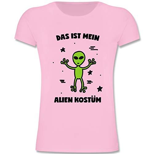Kinder - Das ist Mein Alien Kostüm - 164 (14-15 Jahre) - Rosa - F131K - Mädchen Kinder T-Shirt ()