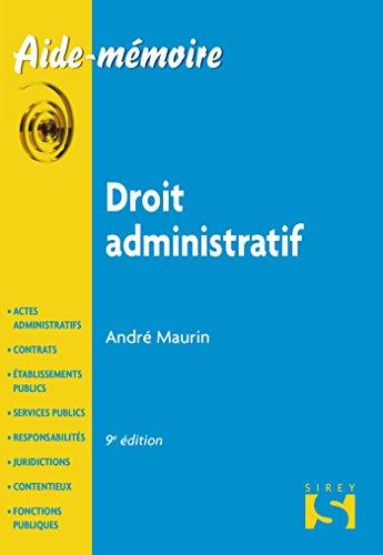 Droit administratif - 9e éd.