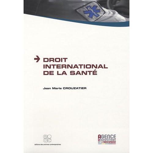 Droit international de la santé