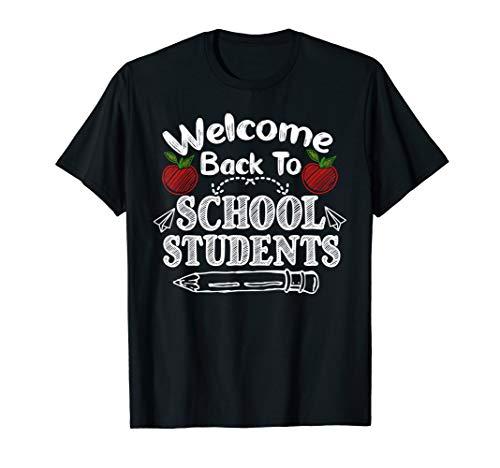 Willkommen zurück in der Schule Geschenk für Lehrer T-Shirt