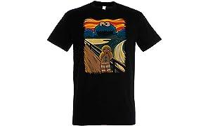 The Cookie Muncher T-Shirt – Cookie Monster - Muppets – 100% Baumwolle - Hochwertiger Siebdruck.