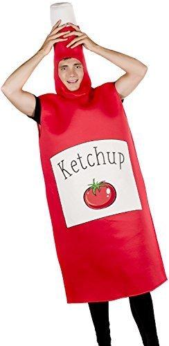 chup Sauce Gewürz Nahrung lustig Komödie Herrenabend Henne Do Abend Party Kostüm Kleid Outfit (Gewürz Kostüme)