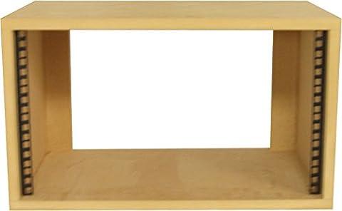 Desk Top 19 inch 6U Rack Pod - SMP6
