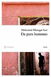 De purs hommes par Mbougar Sarr