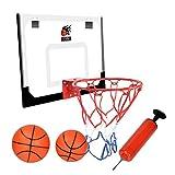 Basketballkorb fürs Zimmer, Basketballkorb Set mit Bälle und Pumpe Indoor...