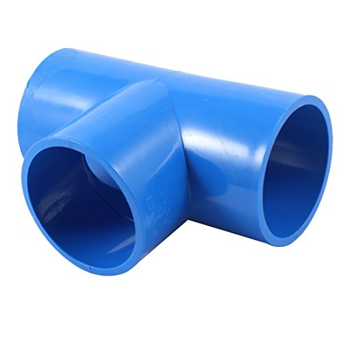 2 inner diameter t type pvc u pipe tubing adapter for Plastic plumbing pipe types