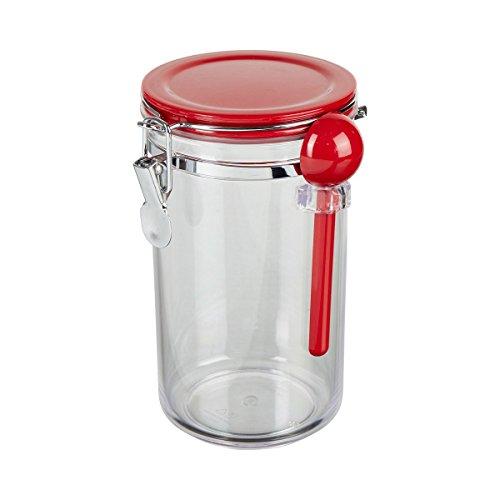 TRI 0460184 Aufbewahrungsbehälter inkl. Löffel mit Aromaverschluss-Deckel Kunststoff luftdicht...
