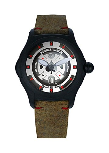 Reloj Booble Watch Quartz Time Only Casinò Cuero Marron Limited Edition